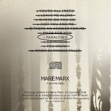 Marie Marx - This is the Thing Album Track 7
